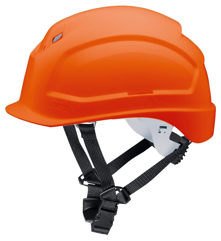 Casco de Obra Pheos S-KR Protecci/ón en el Trabajo Casco de Seguridad con Adaptadores Laterales Euroslot para Orejeras Protecci/ón de la Cabeza