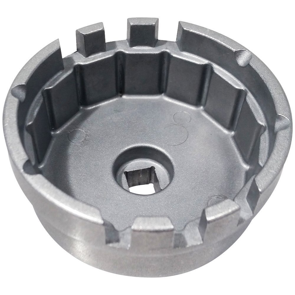 and xD iQ Deep Touch for Toyota Oil Filter Wrench for 1.8L Toyota Prius Compatible with 64mm Oil Filter Cartridges and Caps on 1.8L Corolla and Scion Vehicles Matrix Lexus CT200h