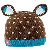Turtle Fur Kids Fawned of You Baby Deer Winter Hat Turquoise