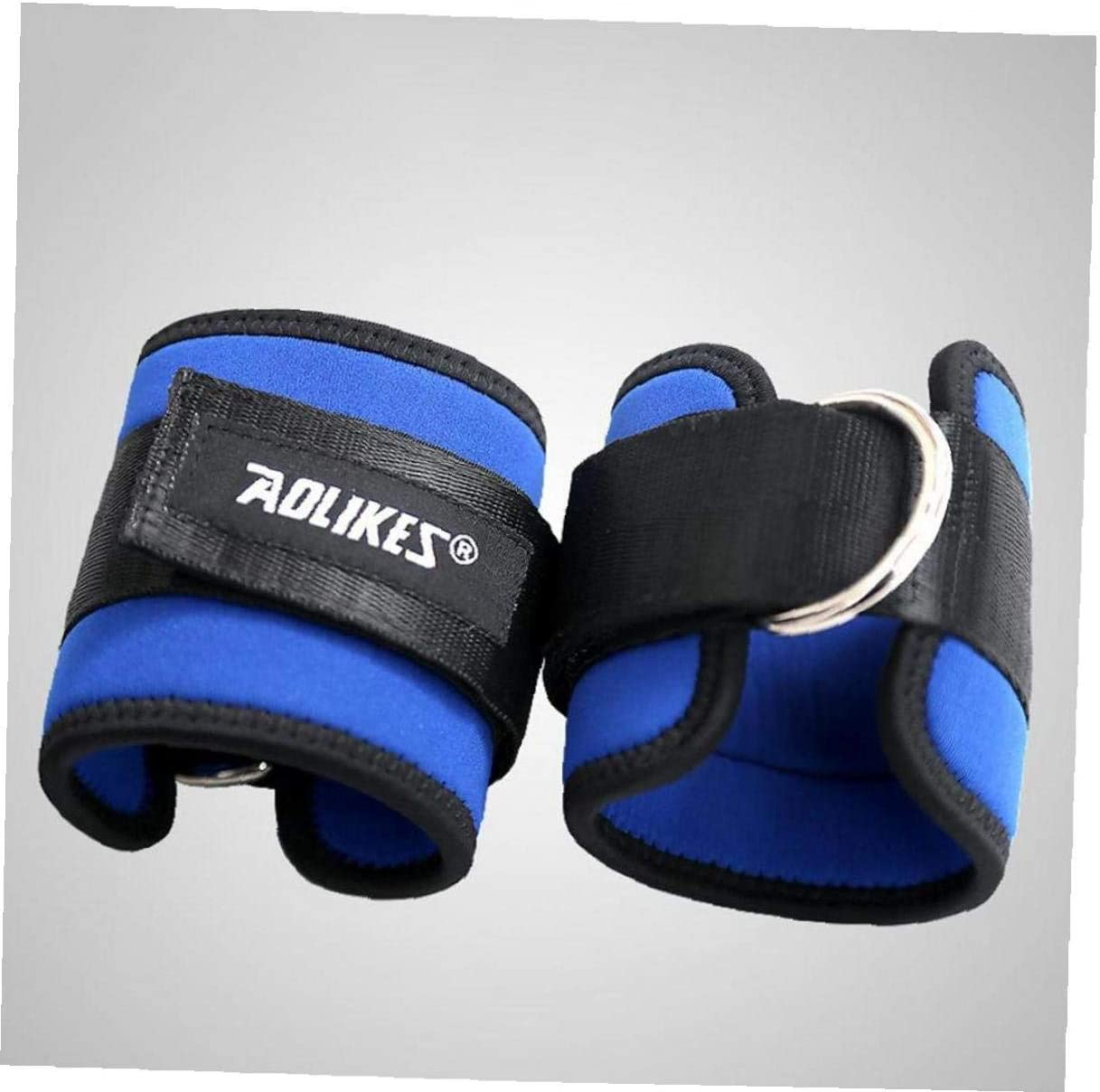Lankater Ankle Weight Lifting Straps Multi Cable Attachment Training Band with Double D-ring Pulley Gym Fitness Accessories