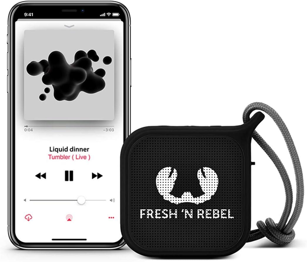 Fresh N Rebel Rockbox Pebble Ink Kabelloser Bluetooth Lautsprecher Audio Hifi