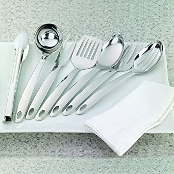 Image Unavailable Not Available For Color Members Mark 7 Piece Serving Utensil Set
