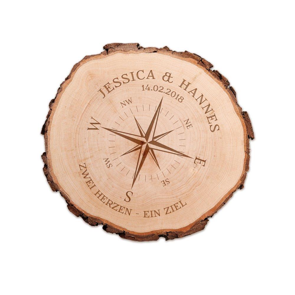 Individuelle Hochzeitsgeschenke - Holz mit Gravur