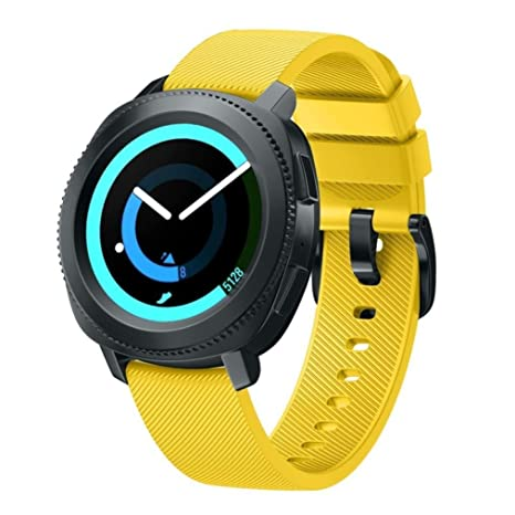 BarRan vívoactive 3 Music Smartwatch Bracelet en Silicone Souple pour Garmin vívoactive 3 Music: Amazon.fr: High-tech