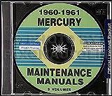 CD-ROM 1960-1961 Mercury Repair Shop Manuals