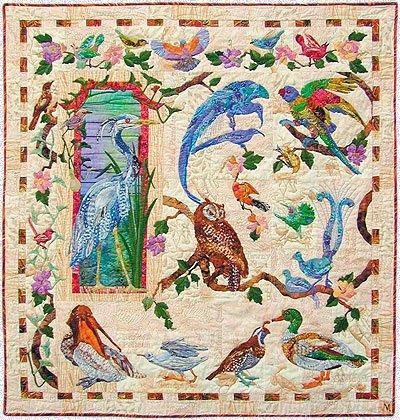 Amazon.com: Feather & Song Series Maggie Walker 9 Applique Quilt ... : applique quilts patterns - Adamdwight.com