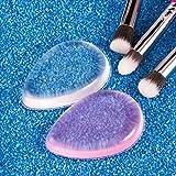 amoore 2-pack Makeup Sponge Silicone Makeup Blender