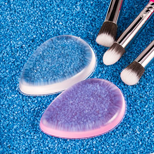 how to pack makeup sponges
