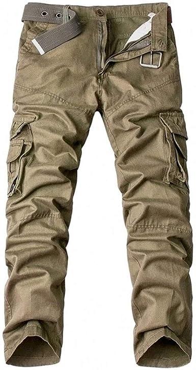 Auyug Pantalones Camuflaje Hombre Cargo Invierno Pantalon Militar Hombres Pantalones De Trabajo Amazon Es Ropa Y Accesorios