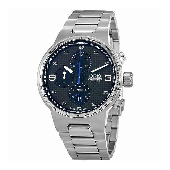 Oris Williams Cronógrafo 44 mm de acero inoxidable reloj para hombre 77477174164 MB: Amazon.es: Relojes