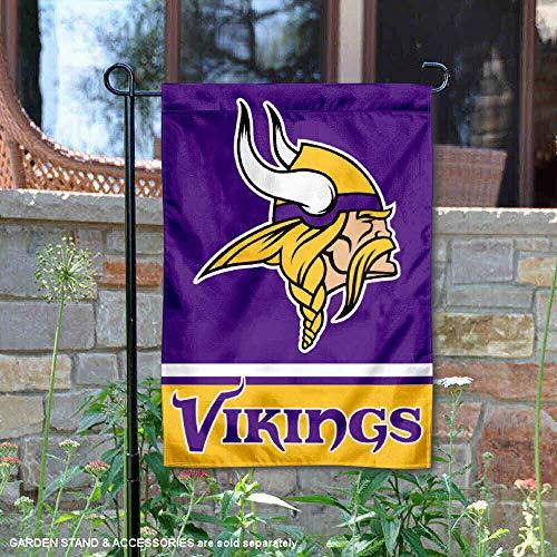 Minnesota Vikings Banner - WinCraft Minnesota Vikings Double Sided Garden Flag