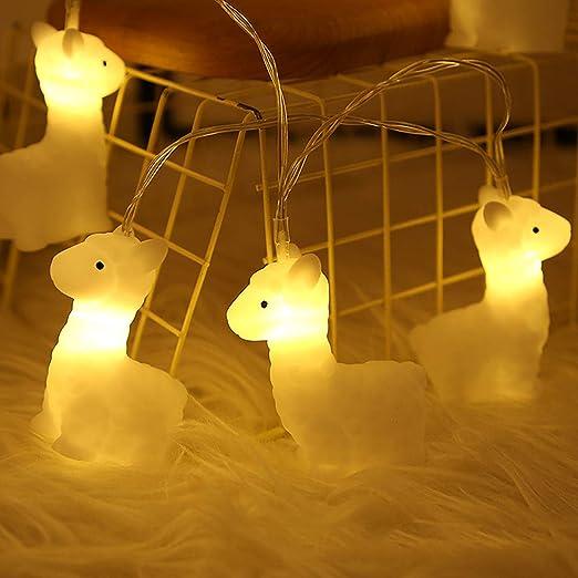 Mobestech LED Preciosa decoración de luces de cadena de ...