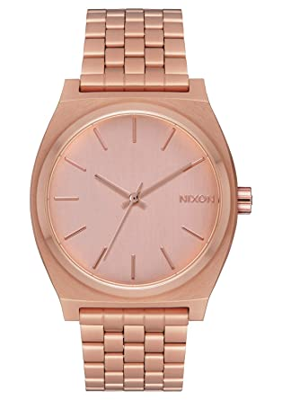 16269e1384a5ae NIXON Time Teller A081 - All Rose Gold - 136M Water Resistant Men's Analog  Fashion Watch