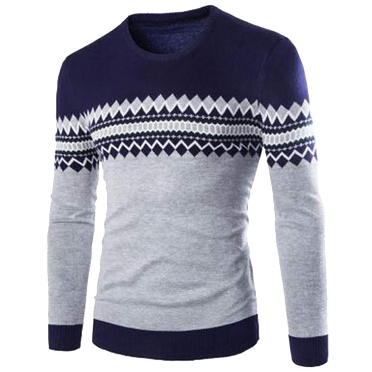 Thadensama Mens Sweater Winter Pullover Men Sweaters Cotton Casual O Neck Sweater Jumpers Thin Male Knitwear Top