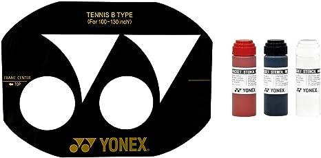 Yonex Pochoir Pour Raquette De Badminton Et Encre Yonex Encre Blanche Yonex Amazon Fr Sports Et Loisirs