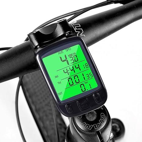 Ciclocomputador, mture – Cuentakilómetros para bicicleta ...