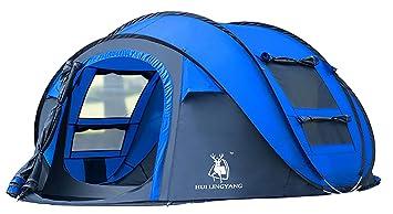 Ghlee 4 Personen Pop Up Zelt Für Camping Outdoor Automatische Set