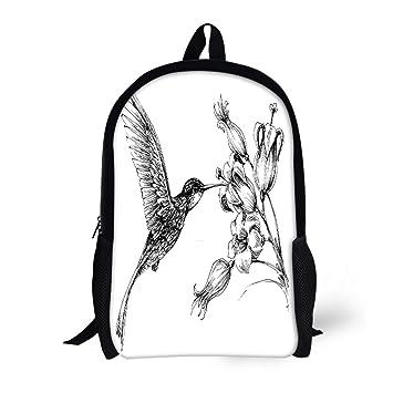 Amazoncom Pinbeam Backpack Travel Daypack Flower
