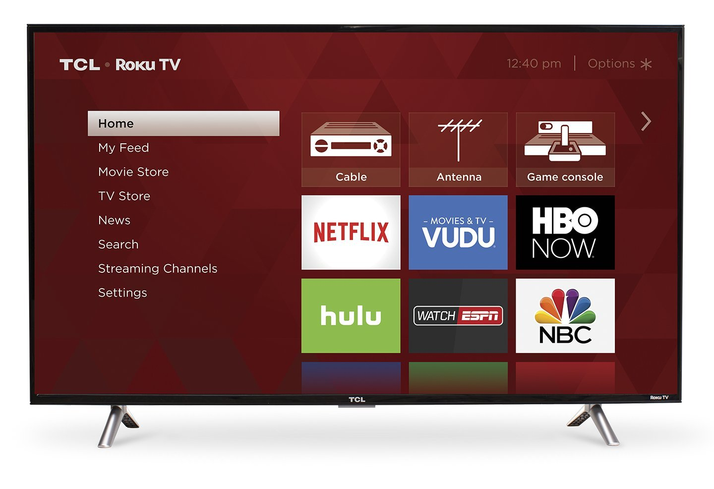 TCL 28S305 28' 720p Roku Smart LED TV (2017 Model)