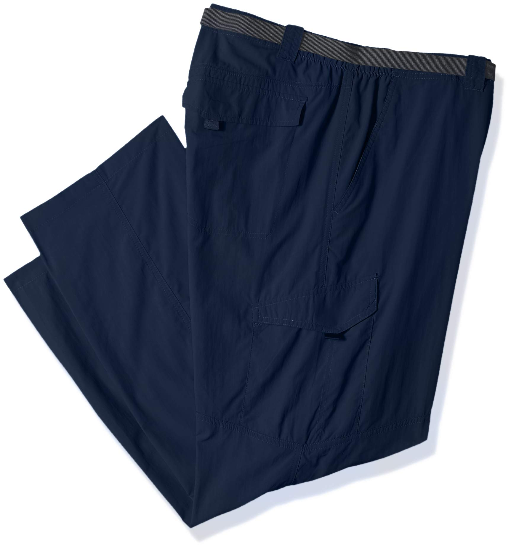 Columbia Men's Silver Ridge Cargo Pant, Collegiate Navy, 30x30