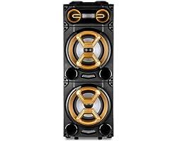 Torre Pulse Dupla 10 Pol. 1600w BT/AUX/SD/USB/FM LED - SP360