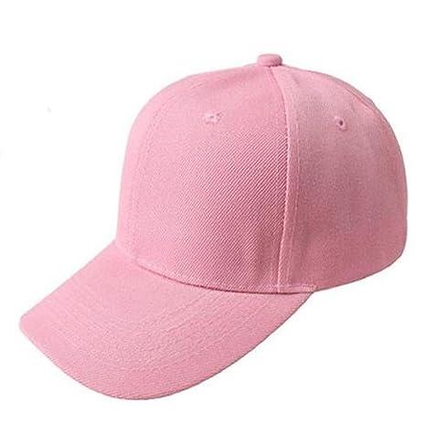 Cappello Berretti da Baseball Amazingdeal365 Cappello A Picco Hiphop Curvo  Strapback Snapback Baseball Cap (Nero) 2ccc79aadac2