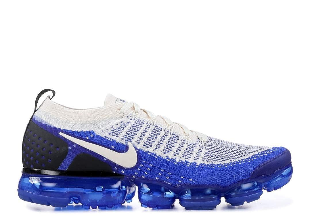 men's nike air vapormax flyknit 2 running shoes blue
