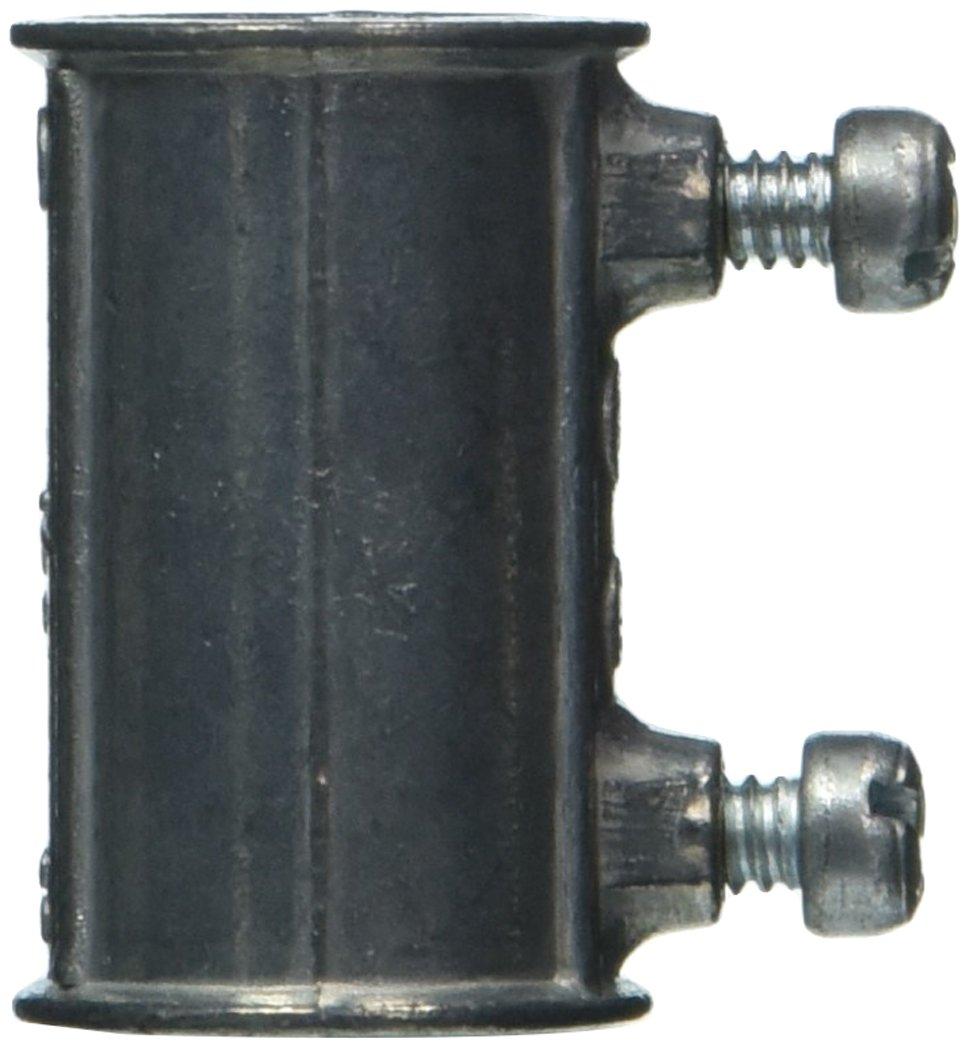 50 Piece EMT 1//2 1//2 Halex 12205B Set Screw Couplings Electrical Metallic Tubing Fitting Zinc Die Cast