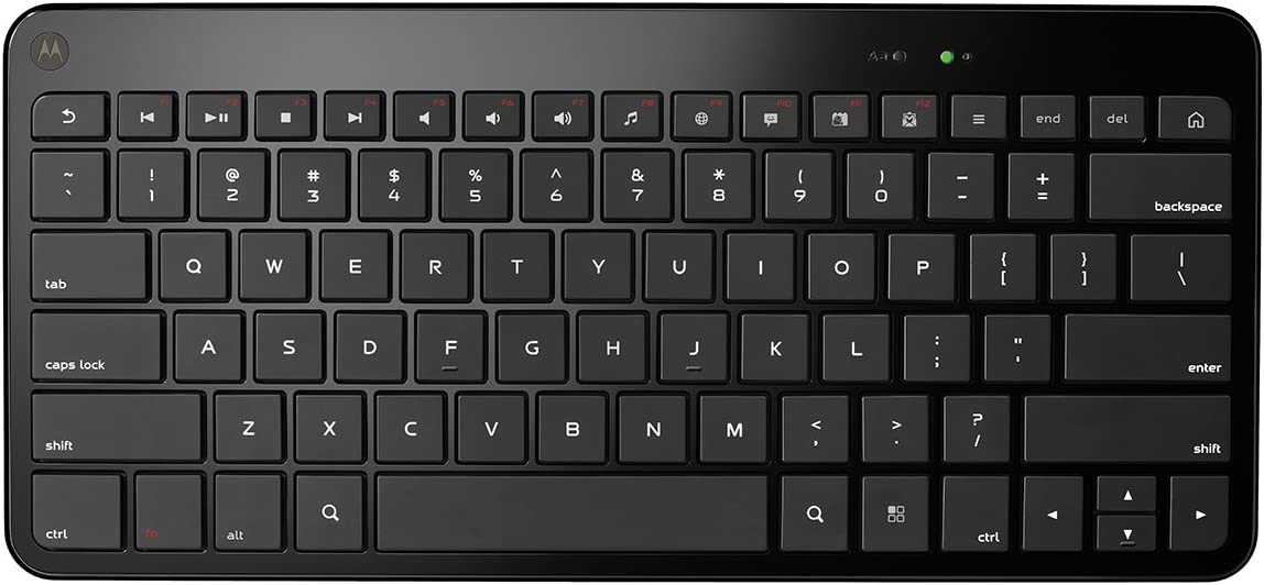 Motorola Wireless Keyboard for Motorola ATRIX and XOOM (Motorola Retail Packaging)