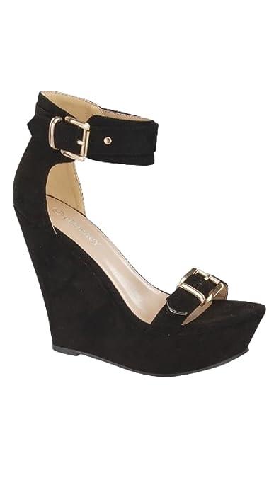 77e133eeb009a Amazon.com | Delicacy Panda-39 Women's Fashion Wedge Sandals (6.5 ...