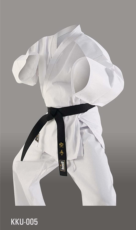 Kango Fitness Karate Gi Elastic Drawstring Medium Weight Uniform 8oz