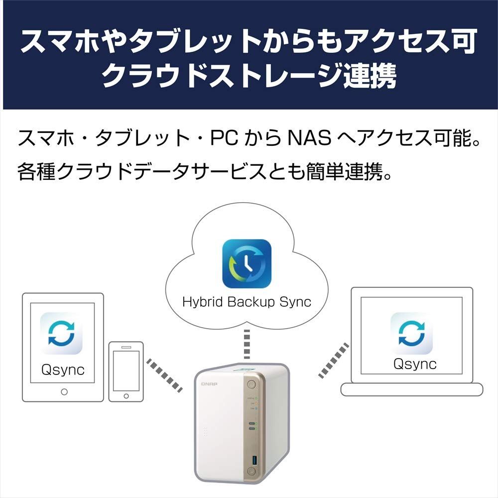 QNAP TS-251B Ethernet LAN Tower White NAS: Amazon com au: Electronics