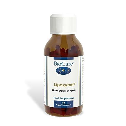 Biocare Lipozyme (lipid digesting enzyme), 90 vegi tapasules ...