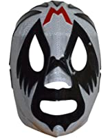 Mil Mascaras Semi-Professional Lucha Libre Mask Adult Luchador Mask Silver