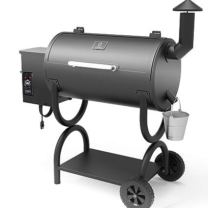 Amazon.com: Z GRILLS Pellet Grill Pro 7 en 1 parrilla de ...
