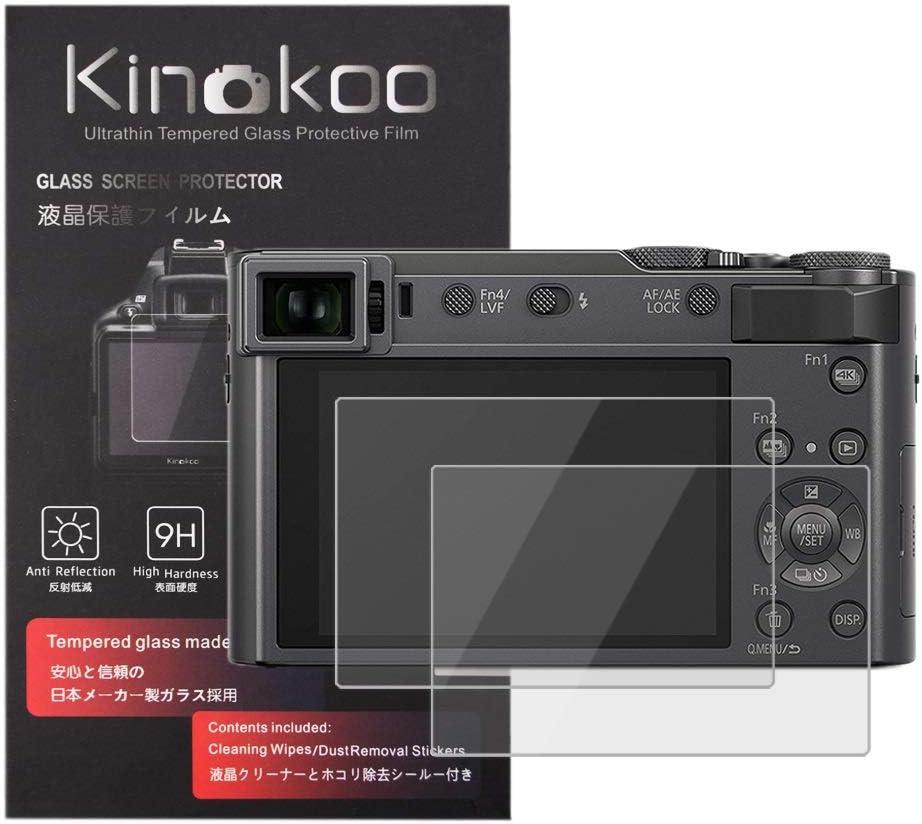 Kinokoo Gehärtetes Glas Für Panasonic Zs200 Zs220 Tz200 Kamera
