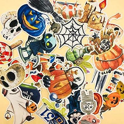 Szynd Mignon Dessin Animé Halloween Citrouille Et Fantômes