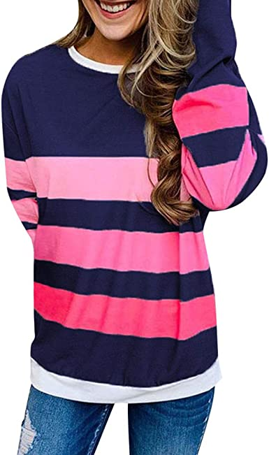 Blusa Mujer Camisetas Ropa De Mujer Suéter Jersey Camisas Manga: Amazon.es: Ropa y accesorios