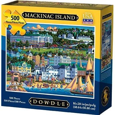 Dowdle Jigsaw Puzzle - Mackinac Island - 500 Piece: Toys & Games
