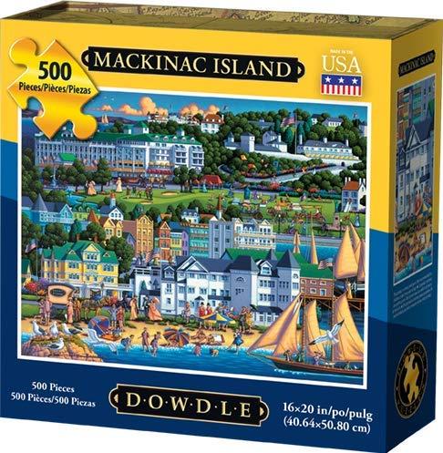 Dowdle Jigsaw Puzzle - Mackinac Island - 500 Piece