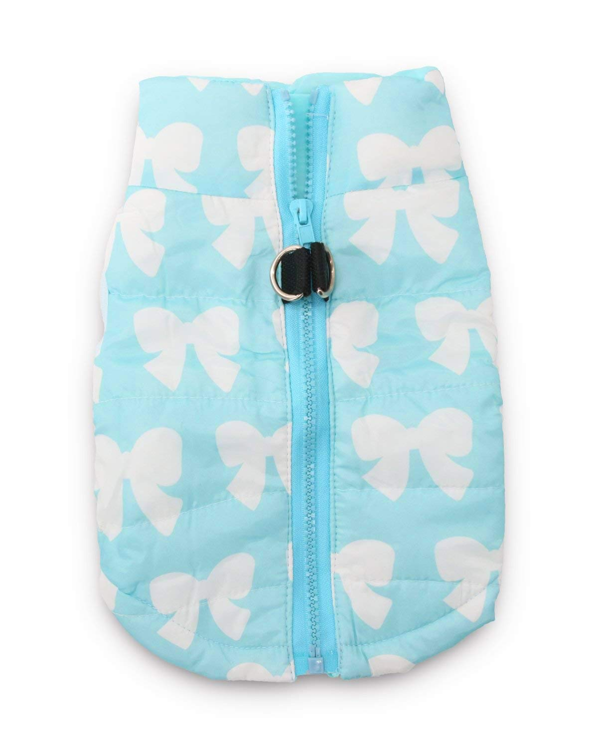 bluee Large (8.8-13.2lb) bluee Large (8.8-13.2lb) DroolingDog Puppy Jackets Dog Warm Coats for Small Dogs, Large