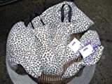 LavenderGreen Spa Wrap Set with Storage Pouch and 5 Lavender Hot or Cold Wraps