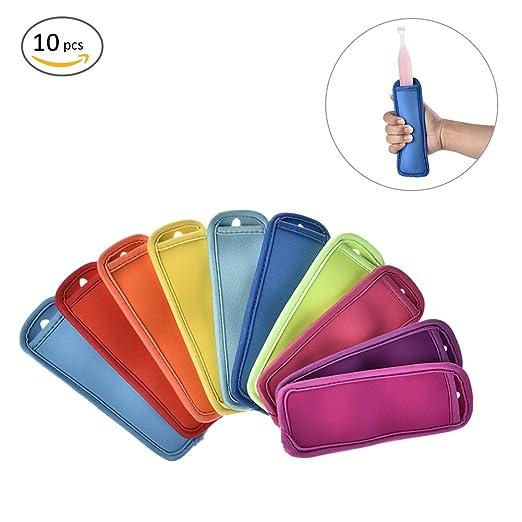 10 bolsas reutilizables anticongelante para polos con aislamiento ...