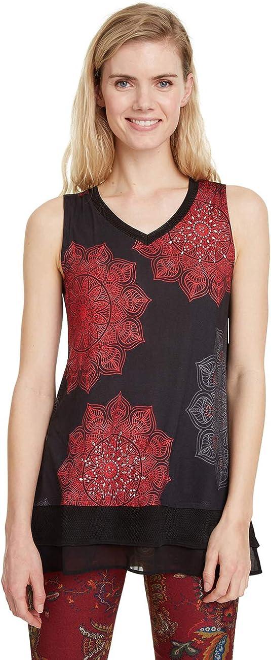 Desigual T-Shirt Clarisse Camiseta para Mujer