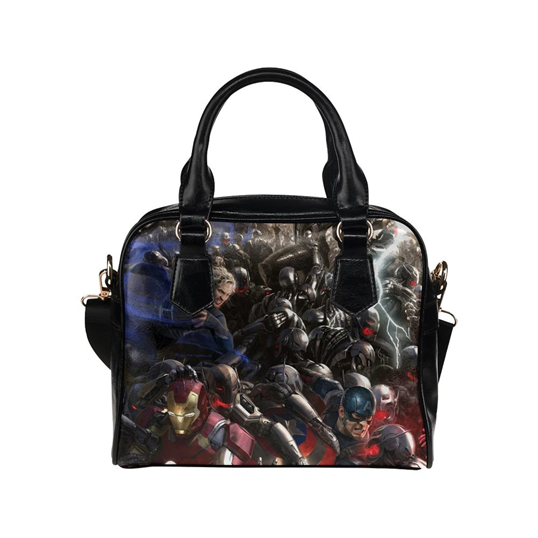 Fashion Tote Handbag Leather Avenger Captain America Shoulder Handbag