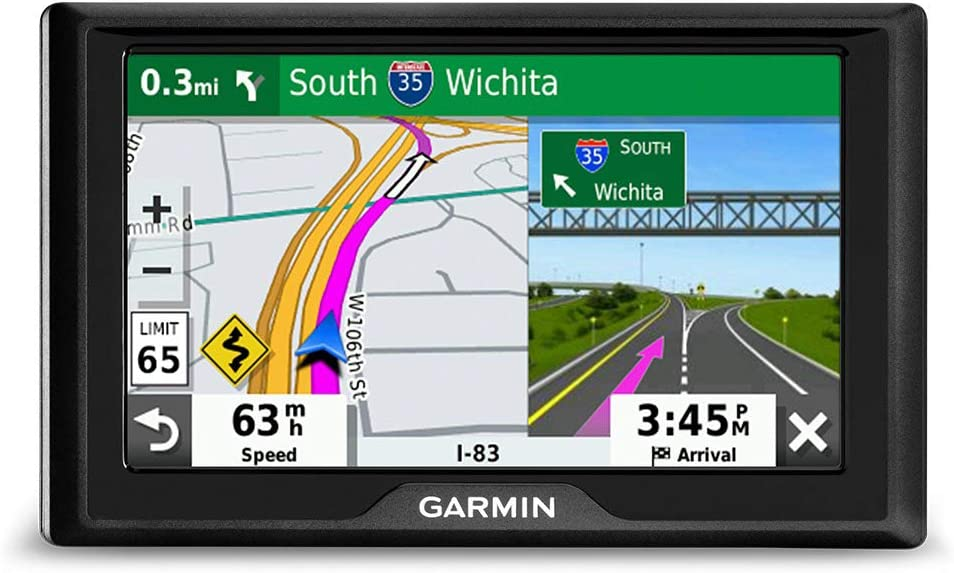 "Garmin Drive 52:GPS navigator with 5"" display features easy-to-read menus and maps plus information to enrich road trips"