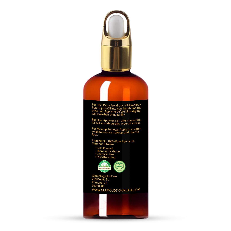 Amazon.com: glamology 100% puro orgánico aceite de jojoba ...