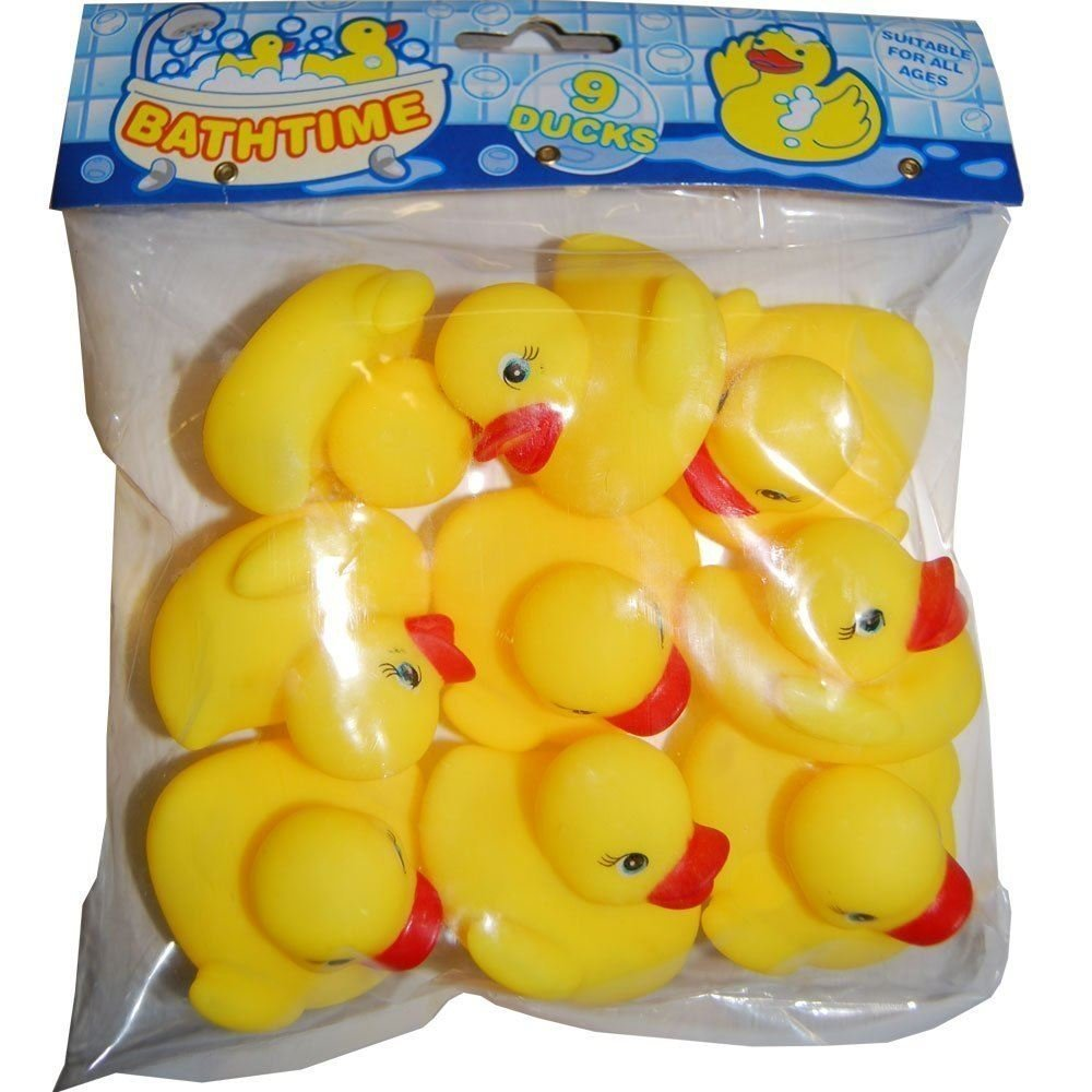 Bathtime Water Toys 9 Rubber Ducks Kandy Toys B00BEJGC3U