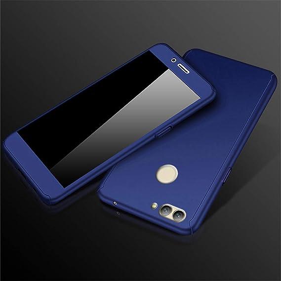 Amazon com: Hangton 360 Tempered Glass Case for Honor 7A 7C 6C Pro