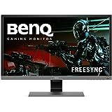 BenQ 28 inch 4K Gaming Monitor (EL2870U), UHD, 3840x2160, HDR, Free-Sync, 1ms Response Time, Eye-Care, Brightness Intelligence Plus, HDMI, DP, Built-in Speakers